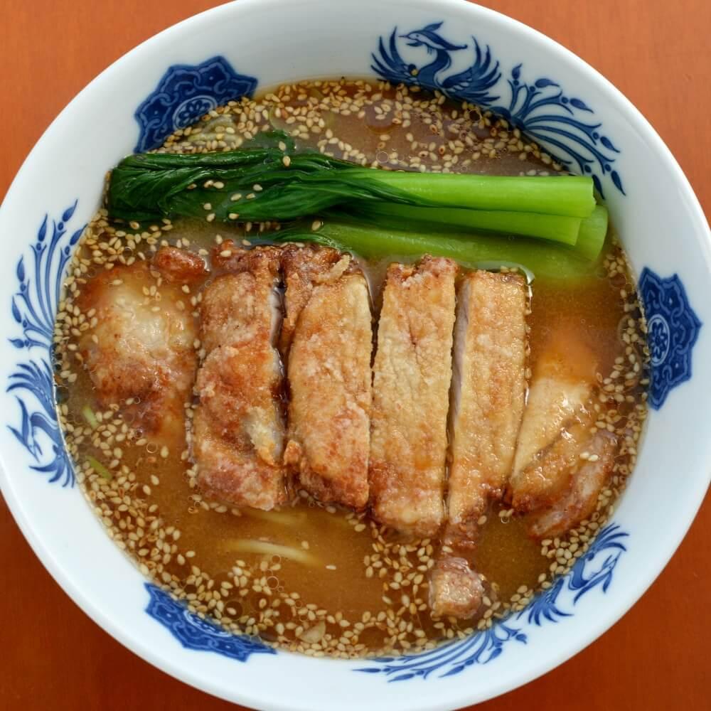 商品名:もみ、多加水 熟成の中太麺・手揉み麺の味噌ラーメン