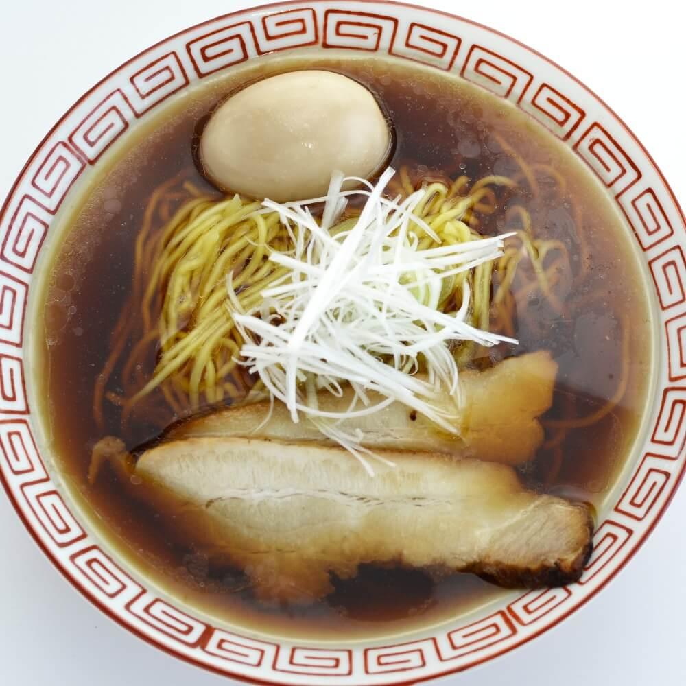 商品名:しなそば、多加水 熟成の中太麺・手揉み麺の無化調醤油ラーメン