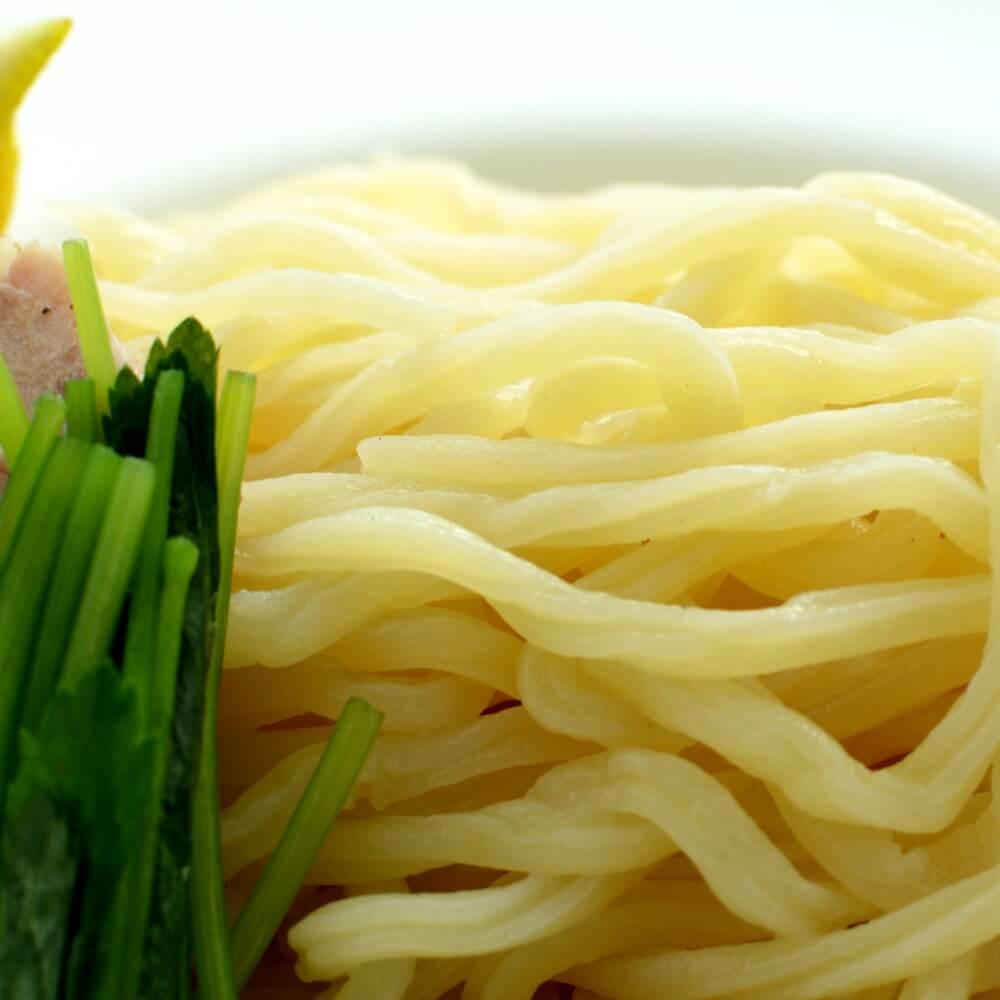 商品名:溝入、多加水 熟成の太麺・ストレート麺のつけめんアップ